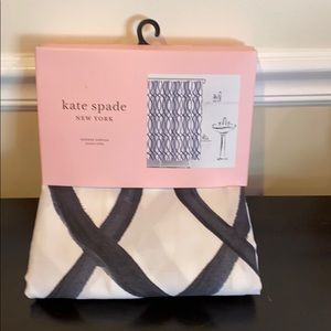 Kate Spade Painted Trellis Shower Curtain